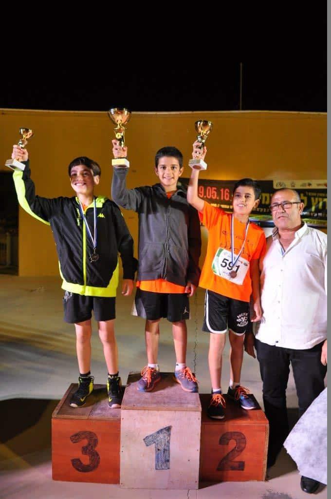 הזוכים במירוץ מיתר. צילום באדיבות המועצה המקומית